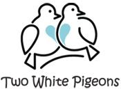 twowhitepigeons Logo
